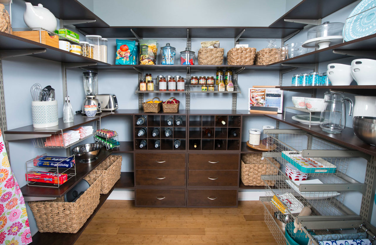pantry shelves organizers