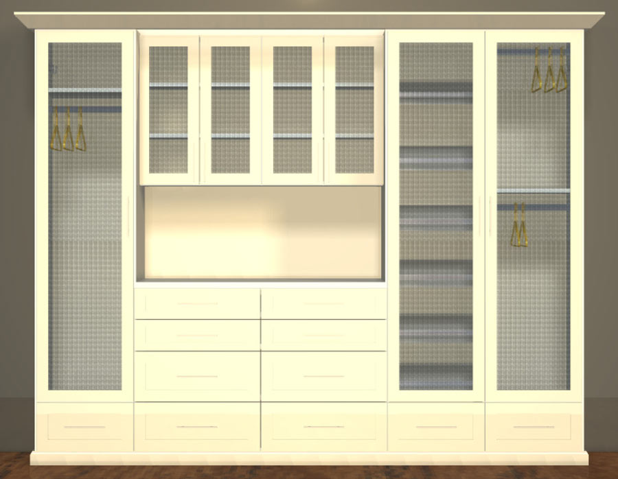 Level 4 Boutique Closet System