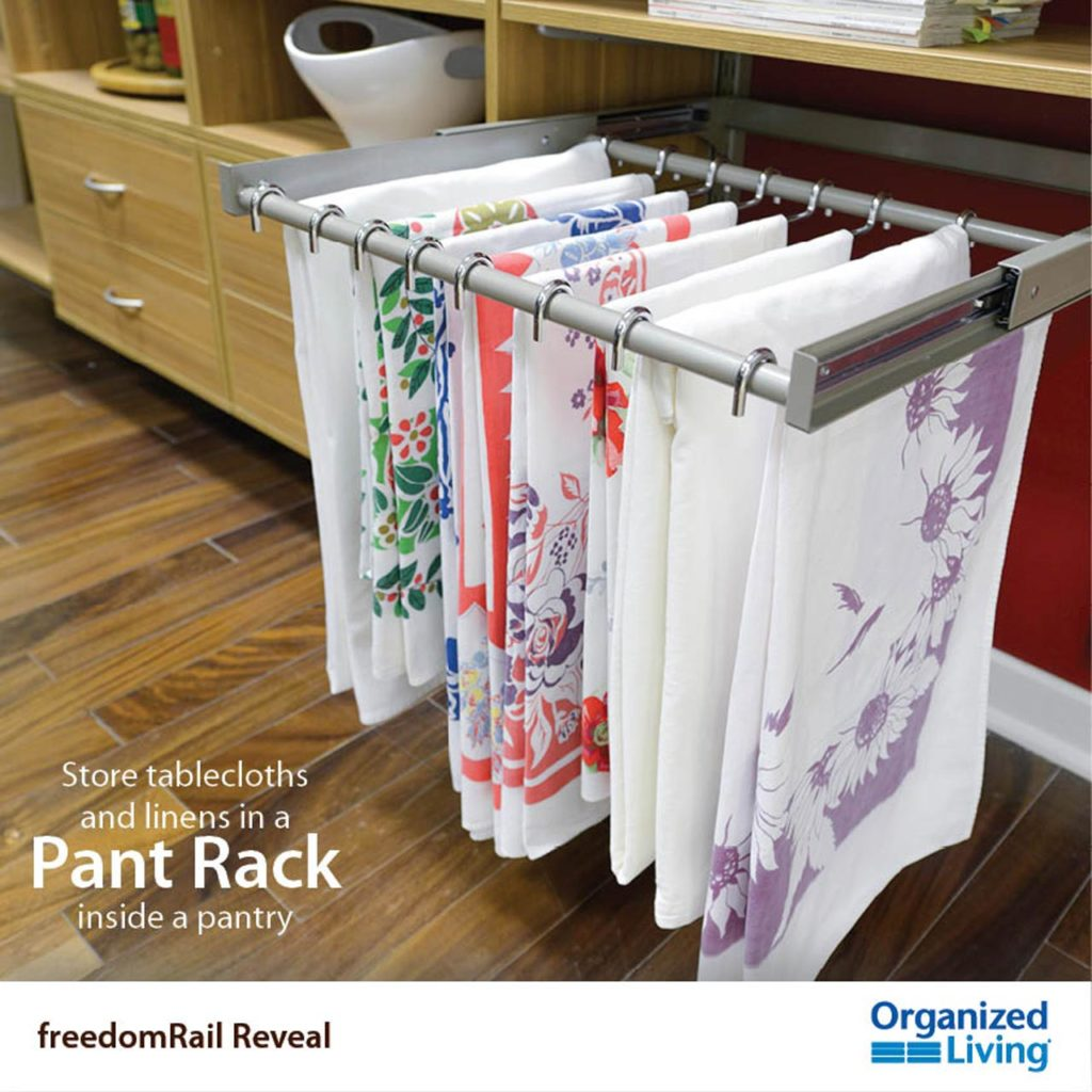 Table-Cloth Pant-Rack